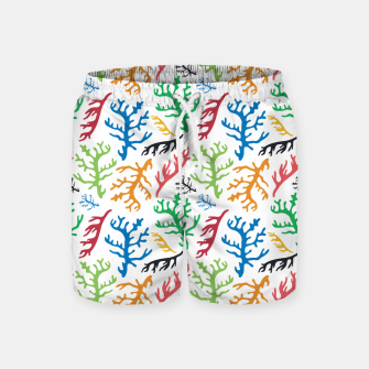 Thumbnail image of MATISSE CORAL REEF PATTERN Swim Shorts, Live Heroes