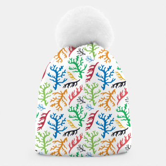 Thumbnail image of MATISSE CORAL REEF PATTERN Beanie, Live Heroes