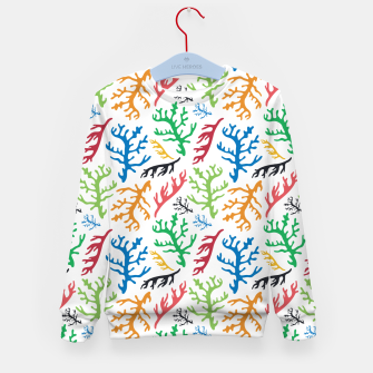 Thumbnail image of MATISSE CORAL REEF PATTERN Kid's sweater, Live Heroes