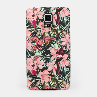 Miniatur Birds in the tropical bloom 7 Carcasa por Samsung, Live Heroes