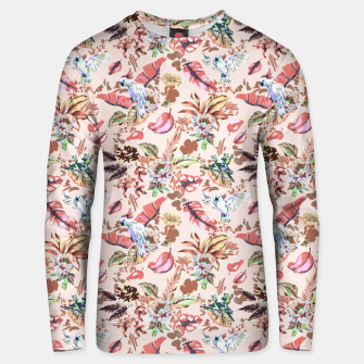 Miniatur Birds in the tropical bloom 2 Sudadera unisex, Live Heroes
