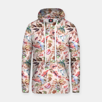 Miniatur Birds in the tropical bloom 2 Sudadera con capucha, Live Heroes