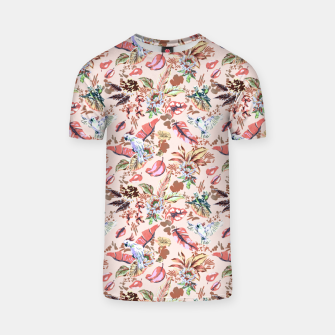Miniatur Birds in the tropical bloom 2 Camiseta, Live Heroes
