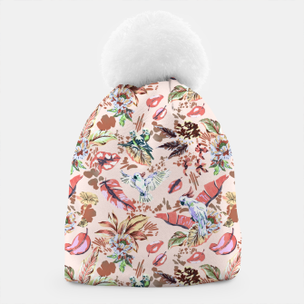 Miniatur Birds in the tropical bloom 2 Gorro, Live Heroes