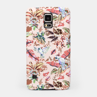 Miniatur Birds in the tropical bloom 2 Carcasa por Samsung, Live Heroes
