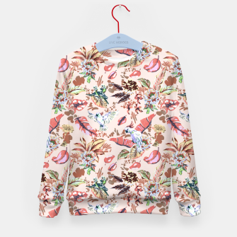 Miniatur Birds in the tropical bloom 2 Sudadera para niños, Live Heroes