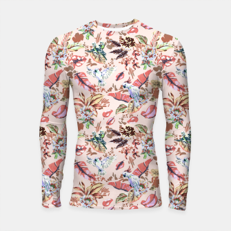 Thumbnail image of Birds in the tropical bloom 2 Longsleeve rashguard, Live Heroes