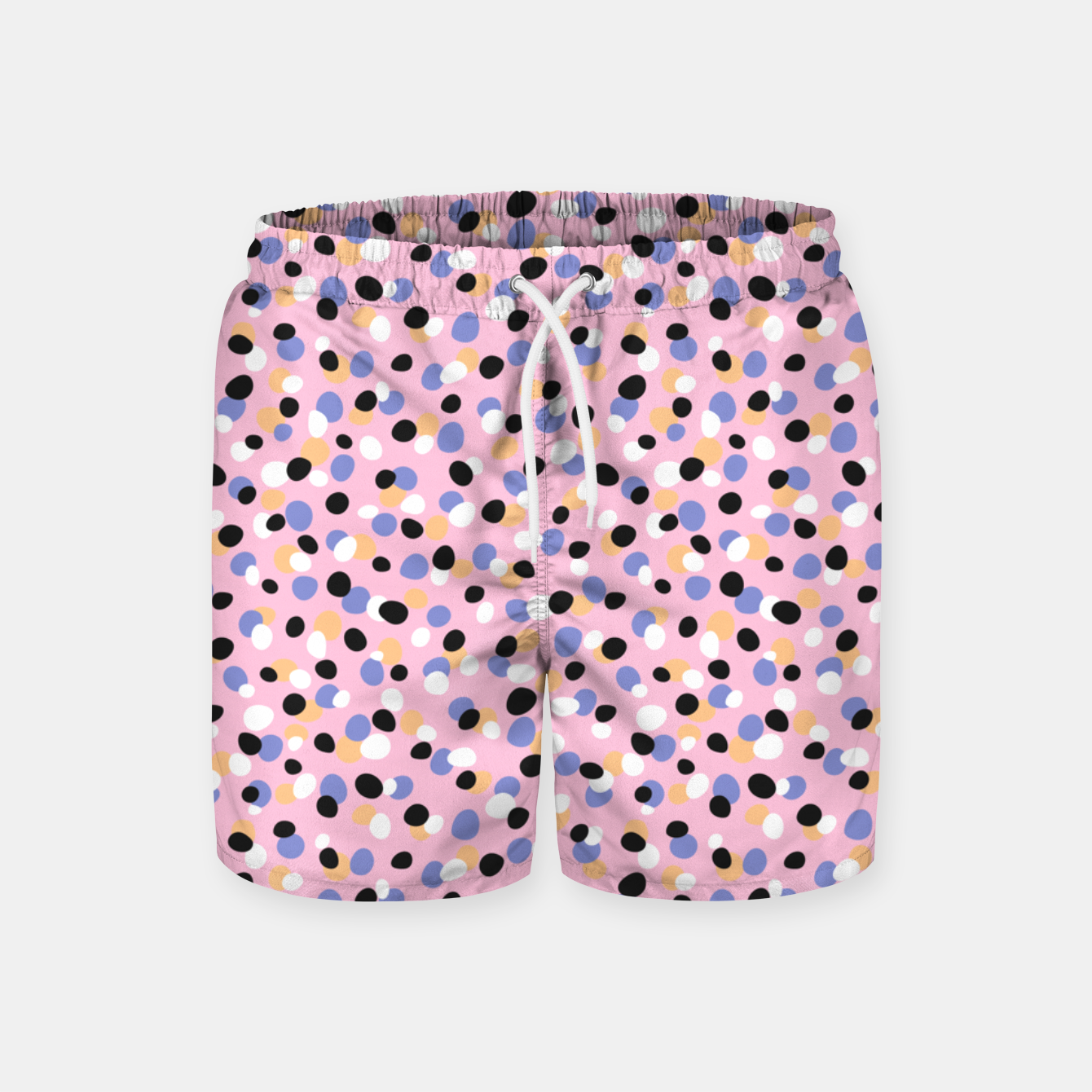 Foto Funky pebbles in pink Swim Shorts - Live Heroes