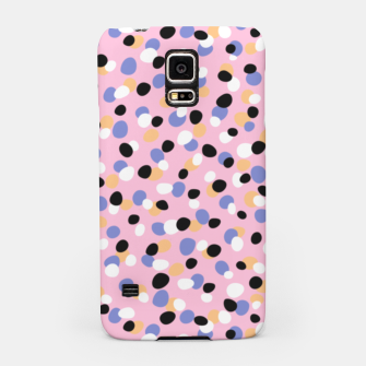 Miniatur Funky pebbles in pink Samsung Case, Live Heroes