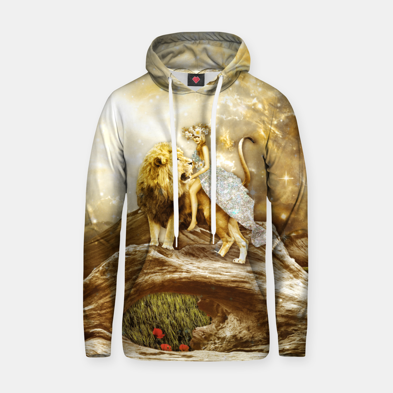 Image of THE STRENGTH Sudadera con capucha - Live Heroes