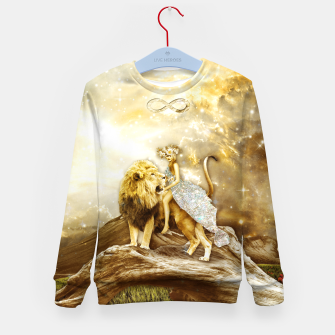 Thumbnail image of THE STRENGTH Sudadera para niños, Live Heroes