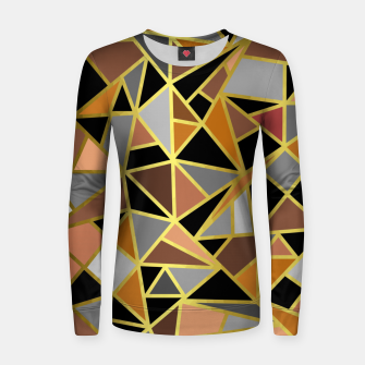 Thumbnail image of Geometric Shapes Women sweater, Live Heroes