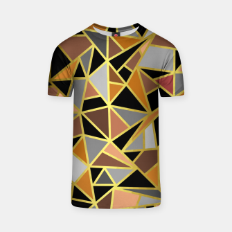 Miniatur Geometric Shapes T-shirt, Live Heroes