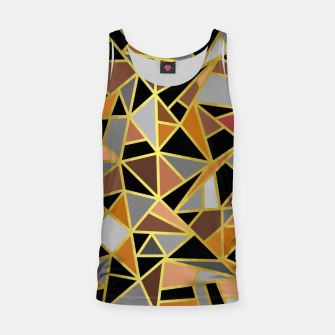Miniatur Geometric Shapes Tank Top, Live Heroes