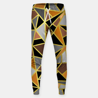 Miniatur Geometric Shapes Sweatpants, Live Heroes