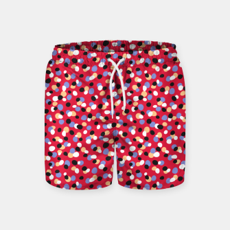 Miniatur Funky pebbles in red Swim Shorts, Live Heroes
