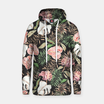 Miniaturka Wild bloom jungle dark Sudadera con capucha, Live Heroes