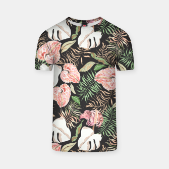 Miniaturka Wild bloom jungle dark Camiseta, Live Heroes