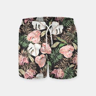 Miniaturka Wild bloom jungle dark Pantalones de baño, Live Heroes