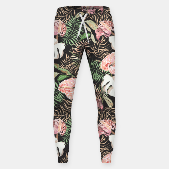 Miniaturka Wild bloom jungle dark Pantalones de chándal , Live Heroes
