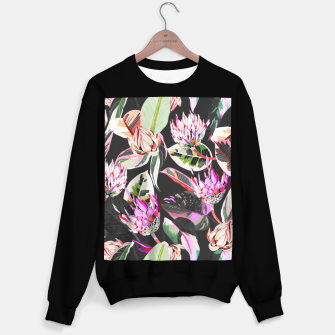 Thumbnail image of Dark colorful bohemian bloom Sudadera regular, Live Heroes