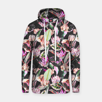 Thumbnail image of Dark colorful bohemian bloom Sudadera con capucha, Live Heroes
