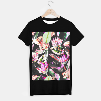 Thumbnail image of Dark colorful bohemian bloom Camiseta Regular, Live Heroes