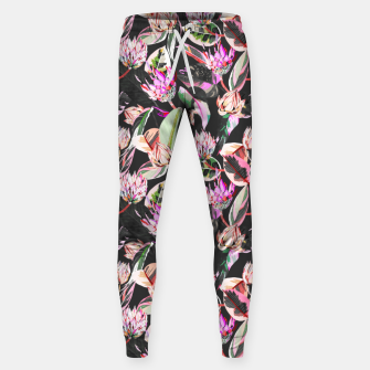 Thumbnail image of Dark colorful bohemian bloom Pantalones de chándal , Live Heroes