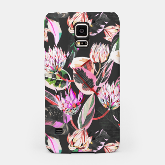Miniatur Dark colorful bohemian bloom Carcasa por Samsung, Live Heroes