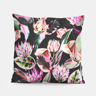 Thumbnail image of Dark colorful bohemian bloom Almohada, Live Heroes