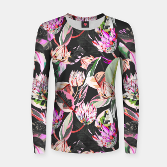 Thumbnail image of Dark colorful bohemian bloom Sudadera para mujeres, Live Heroes