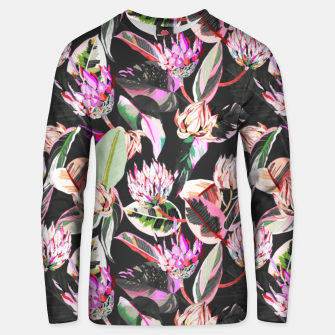 Thumbnail image of Dark colorful bohemian bloom Sudadera unisex, Live Heroes