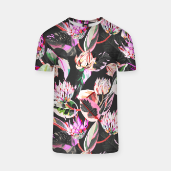 Thumbnail image of Dark colorful bohemian bloom Camiseta, Live Heroes