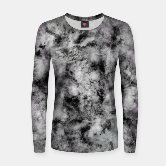 Thumbnail image of Stone grey angel Women sweater, Live Heroes