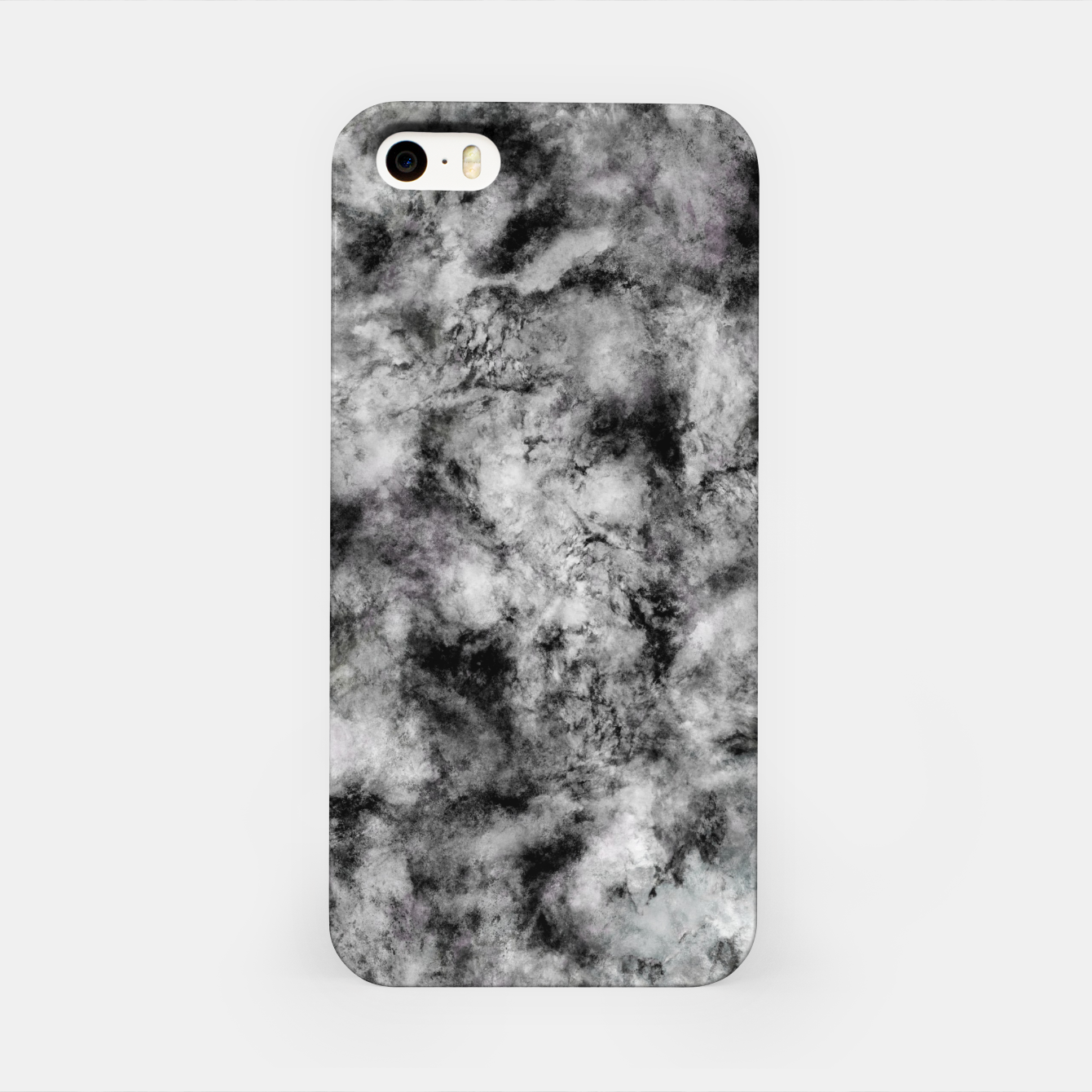 Image of Stone grey angel iPhone Case - Live Heroes