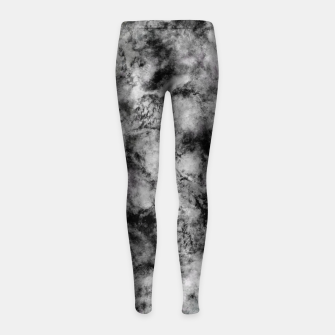 Thumbnail image of Stone grey angel Girl's leggings, Live Heroes
