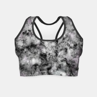 Thumbnail image of Stone grey angel Crop Top, Live Heroes