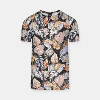 Miniatur Dark colorful bohemian bloom 2 Camiseta, Live Heroes