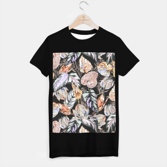 Miniatur Dark colorful bohemian bloom 2 Camiseta Regular, Live Heroes