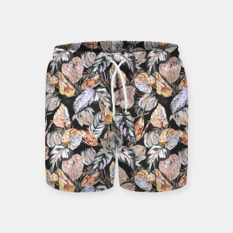 Thumbnail image of Dark colorful bohemian bloom 2 Pantalones de baño, Live Heroes