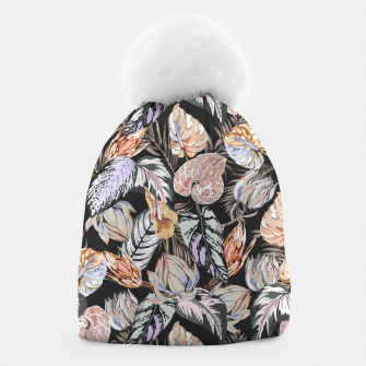 Miniatur Dark colorful bohemian bloom 2 Gorro, Live Heroes