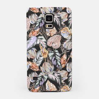 Miniatur Dark colorful bohemian bloom 2 Carcasa por Samsung, Live Heroes