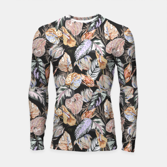 Thumbnail image of Dark colorful bohemian bloom 2 Longsleeve rashguard, Live Heroes