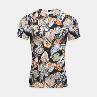 Thumbnail image of Dark colorful bohemian bloom 2 Shortsleeve rashguard, Live Heroes