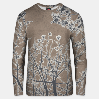 Miniature de image de Linear Textured Botanical Motif Design Unisex sweater, Live Heroes