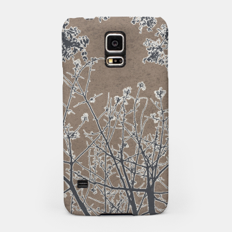 Thumbnail image of Linear Textured Botanical Motif Design Samsung Case, Live Heroes