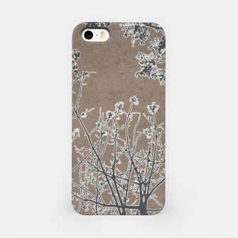 Miniature de image de Linear Textured Botanical Motif Design iPhone Case, Live Heroes