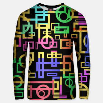 Miniatur Abstract Geometric Layers Unisex sweater, Live Heroes