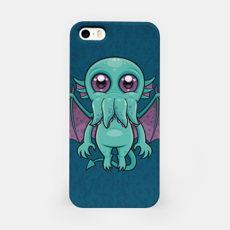 Thumbnail image of Cute Baby Cthulhu Monster iPhone Case, Live Heroes