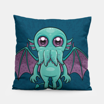 Thumbnail image of Cute Baby Cthulhu Monster Pillow, Live Heroes